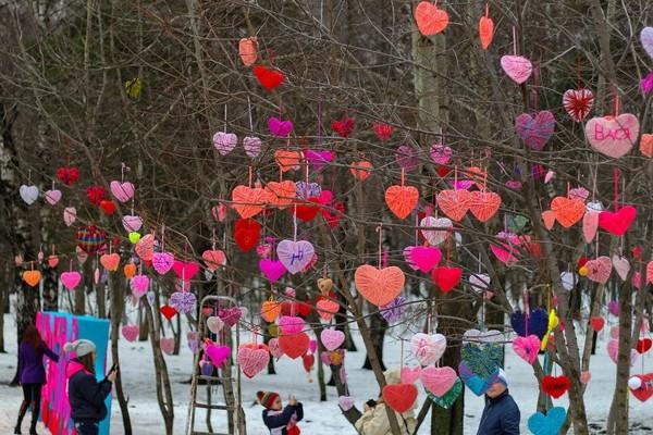 День Влюблённых в парке «Кузьминки»