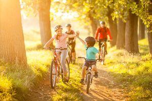 Где кататься на велосипеде