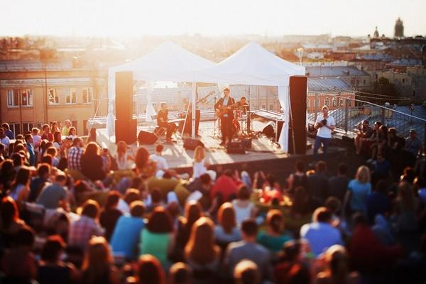 Концерты на крыше
